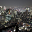 Tokyo City in Japan at night - Stock Photo