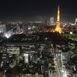 Tokyo City in Japan at night — Foto Stock