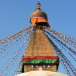 Top of buddhistic stupa — Stock Photo