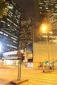 Hong kong's nachts — Stockfoto