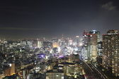 Tokyo City in Japan at night — Stock Photo