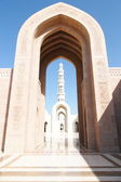 Arch in mosque — Stock Photo