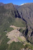 Machu Picchu Panorama — Stock Photo