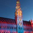 Rathaus in brussel — Stockfoto