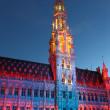 Stadhuis van brussel — Stockfoto