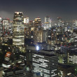 Tokyo at night — Stock Photo