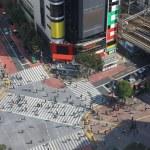 Shibuya crossing in Tokyo — Stock Photo