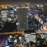 Tokyo bij nacht — Stockfoto