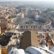 View over Rome - Stock Photo