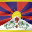 Flag of Tibet — Stock Photo