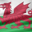 Stock Photo: Flag of Wales
