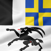 Flag of Grisons — Stock Photo