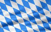 Flagge von bayern — Stockfoto