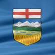 Flag of Alberta - Canada — Stock Photo