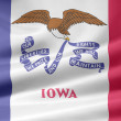 Flag of Iowa - USA — Stock Photo