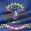 Flag of North Dakota - USA — Stock Photo