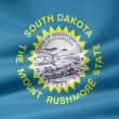 Flag of South Dakota - USA — Stock Photo