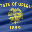 Flag of Oregon - USA — Stock Photo