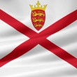 Stock Photo: Flag of Jersey