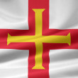 Stock Photo: Flag of Guernsey