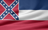 Flag of Mississippi - USA — Stock Photo