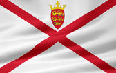 Flag of Jersey — Stock Photo