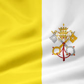 Flag of the Vatican City — Stock Photo
