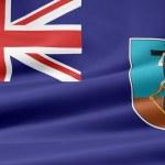 Flag of Montserrat — Stock Photo