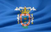Flag of Melilla — Stock Photo