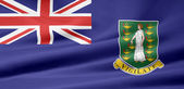 Flag of the Virgin Islands — Stock Photo