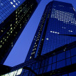 Deutsche Bank Towers — Stock Photo
