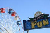 Park rozrywki — Zdjęcie stockowe