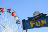 Parque de diversión — Foto de Stock