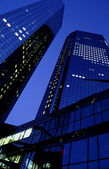 """Deutsche Bank"" Towers — Stock Photo"