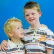 Two brothers hugging — Stock Photo #2696956