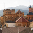 Rooftops Guadalupe Spain - Stock Photo