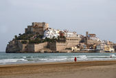Peniscola Town Spain — Stock Photo