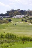 Cortijo grande pole golfowe Mojácar Hiszpanii — Zdjęcie stockowe
