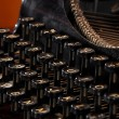 Stock Photo: Close-up of old typewriter