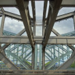 Stock Photo: Industrial age steel bridge