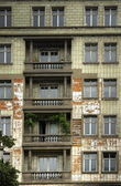 Building Facade in East Berlin, Friedrichshain — Stock Photo