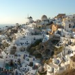 Oia view - Stock Photo