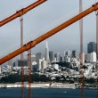 Golden Gate and San Francisco — Stock Photo #2777699