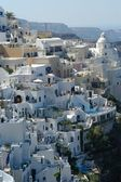 Santorini by day — Stock Photo