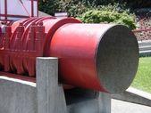 Golden Gate bridge cable section — Stock Photo