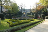 Jardin du Petit Sablon — Stock Photo
