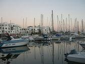 El Kantaoui port — Stock Photo