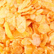 Background of the Crispy corn flakes — Foto de Stock