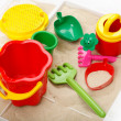 Children sandbox — Stock Photo #3431824