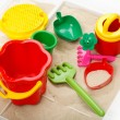 Children sandbox — Stockfoto #3431824